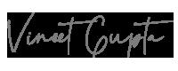 vineet gupta signature