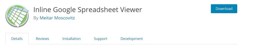 inline google spreadsheet viewer helps to convert data from google spreadsheets to interactive charts and tables