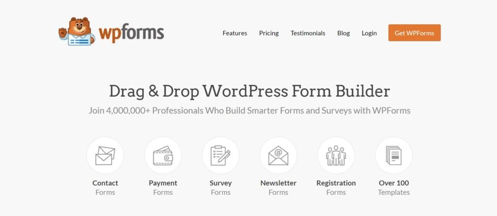 wp forms is a data visualization plugin for wordpress