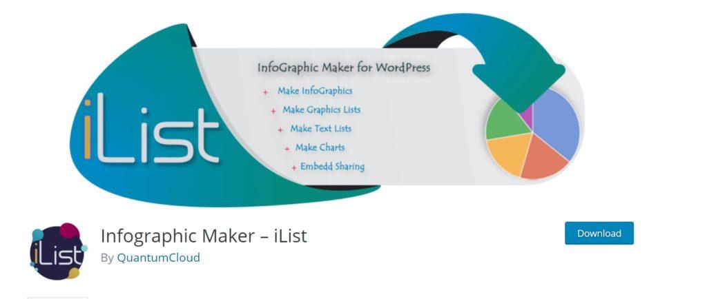 ilist infoographic helps you make seo friendly infographics