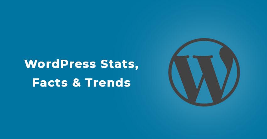 WordPress statistics, facts & trends