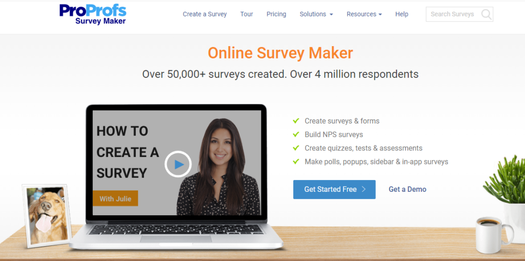 ProProfs Survey Maker- Top Survey Tool for Academic Research