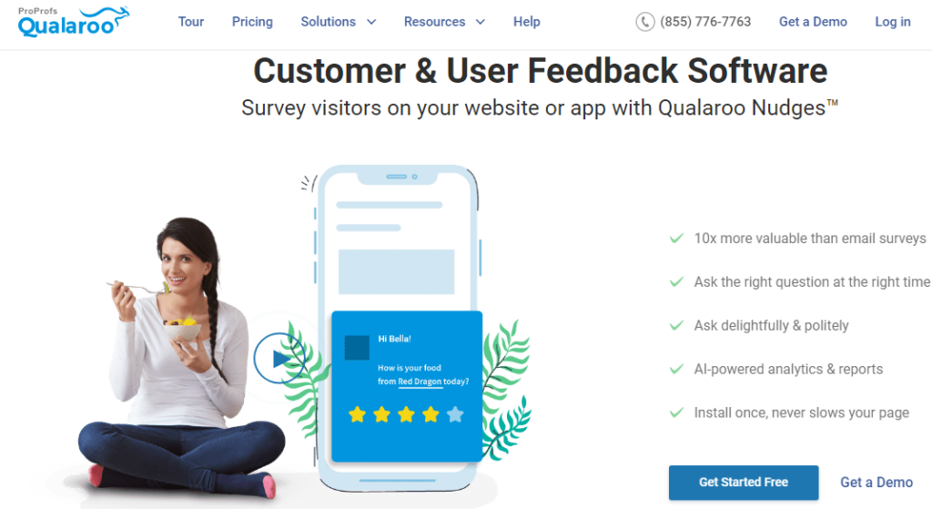 Qualaroo- Best Survey Tool for Academic Research