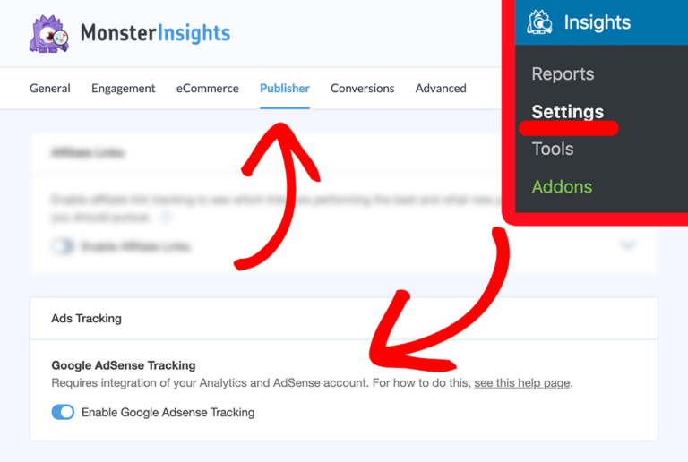 How to Track Google AdSense-MonsterInsights