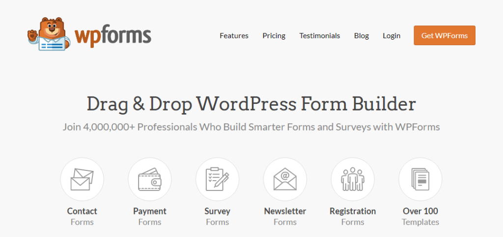 wpforms- Best Survey Tool for Academic Research