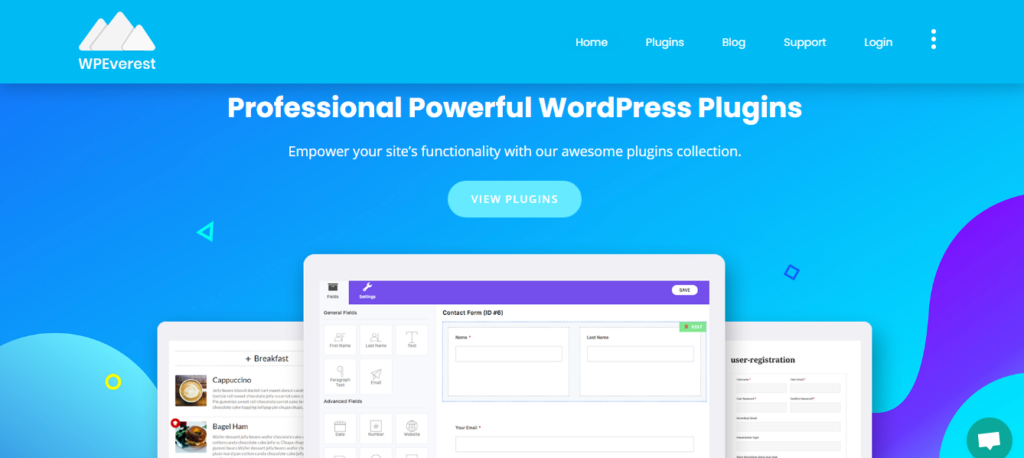 Everest Forms- best contact form plugins for wordpress
