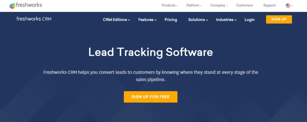 Freshworks CRM- Best Customer Relationship Management Software