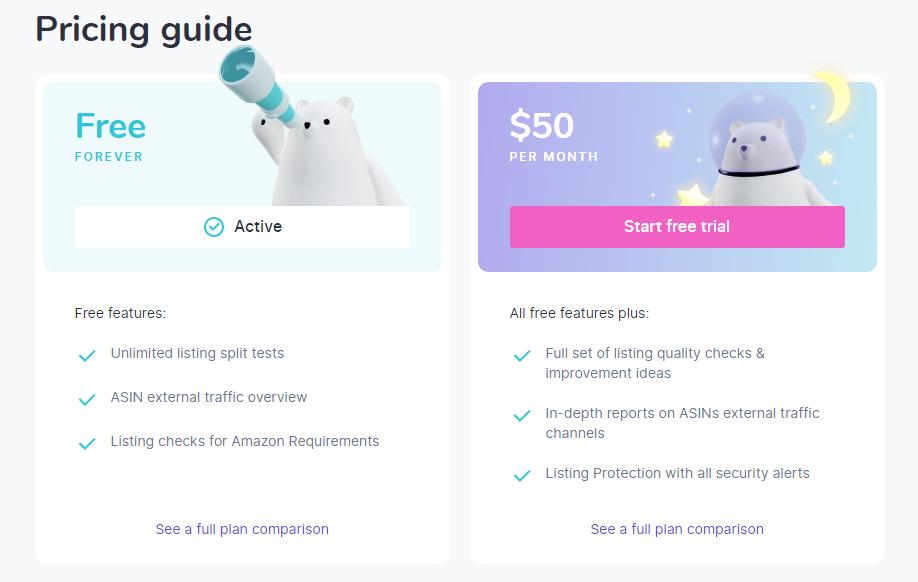 Sellerly: Plan & Pricing