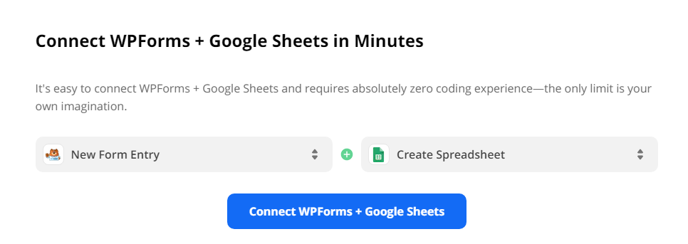 Connect WordPress Form to Google Sheets