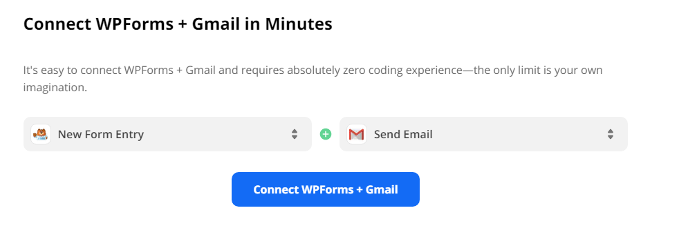 Connect Wpforms to Gmail