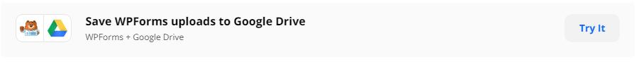 Save Wpforms Uploads to Google Drive