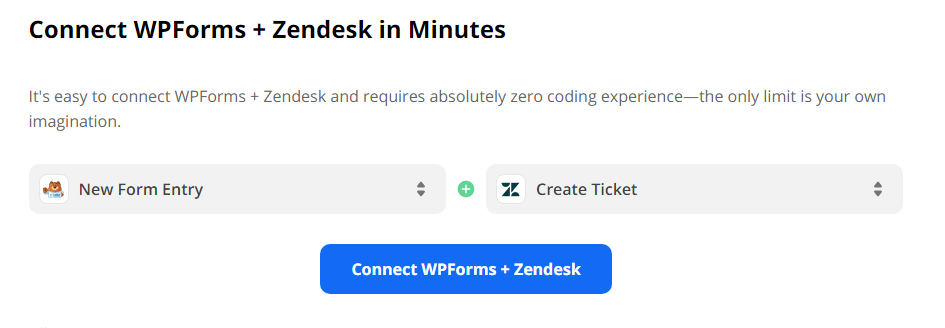 Connect Wpforms with CSM Tools