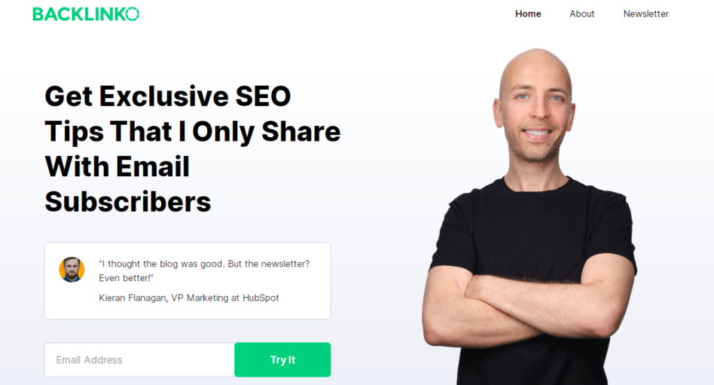 Add a Signup Box to Your Homepage to Grow Your Email List