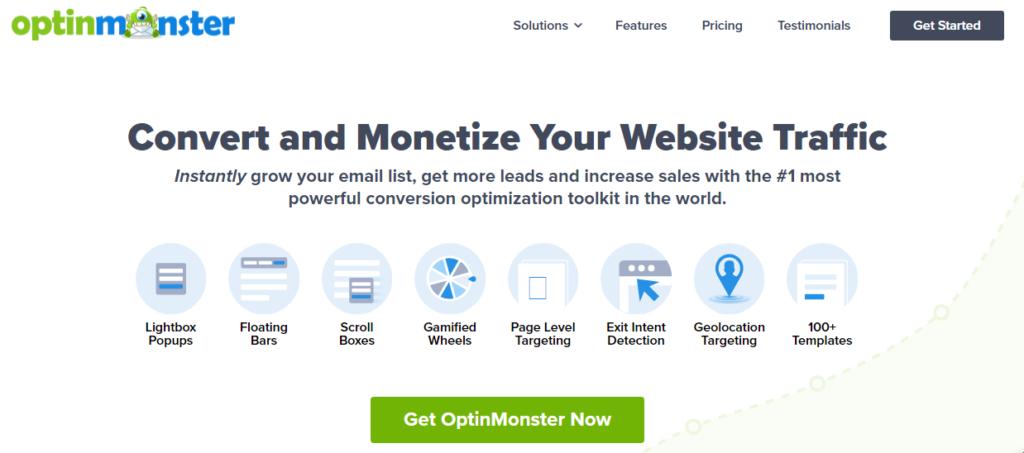 OptionMonster - Best Pop-up Builder