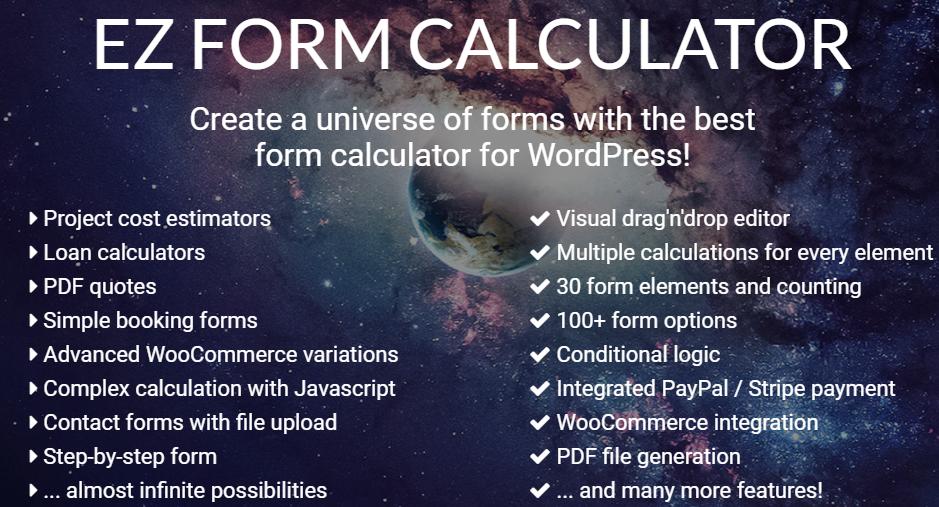 Best WordPress calculator plugin