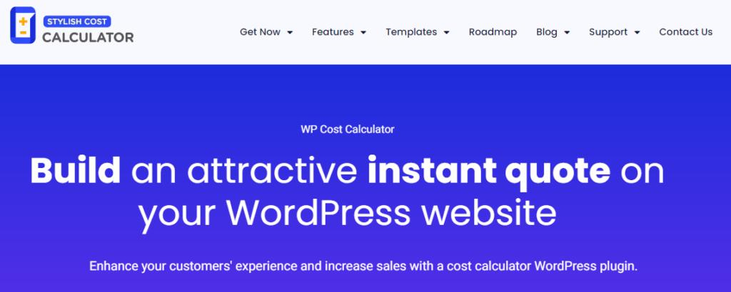 High rated WordPress calculator plugin