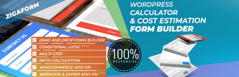 Zigaform – Calculator & Cost Estimation Form Builder