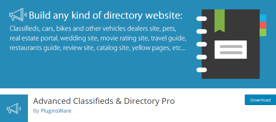 Advanced Classified & Directory Pro- Best WordPress Listing Plugin