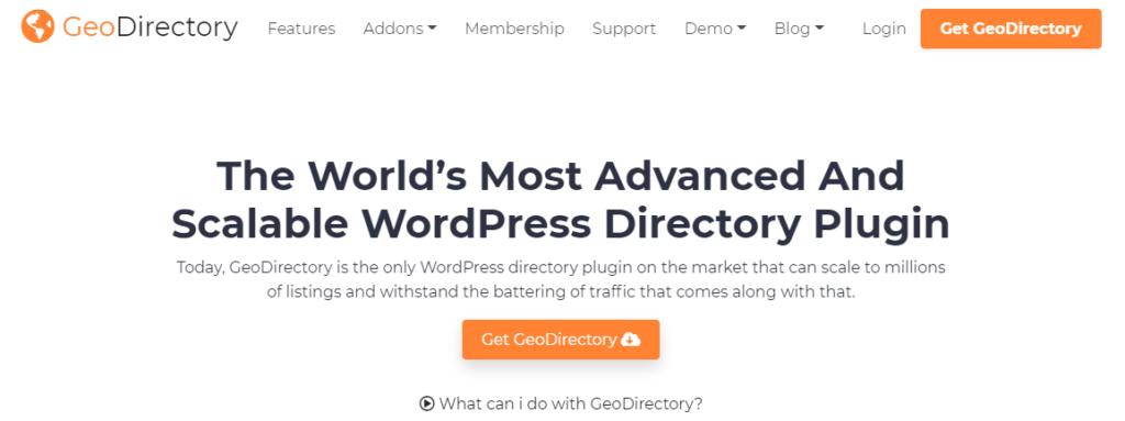 GeoDirectory- Best wordpress plugins for directory listings