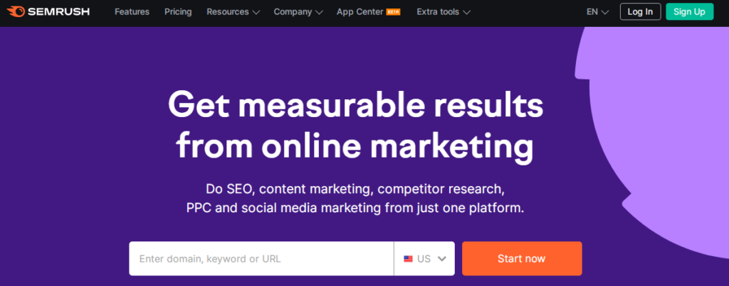 SEMrush is the Best Website Monitoring Tool