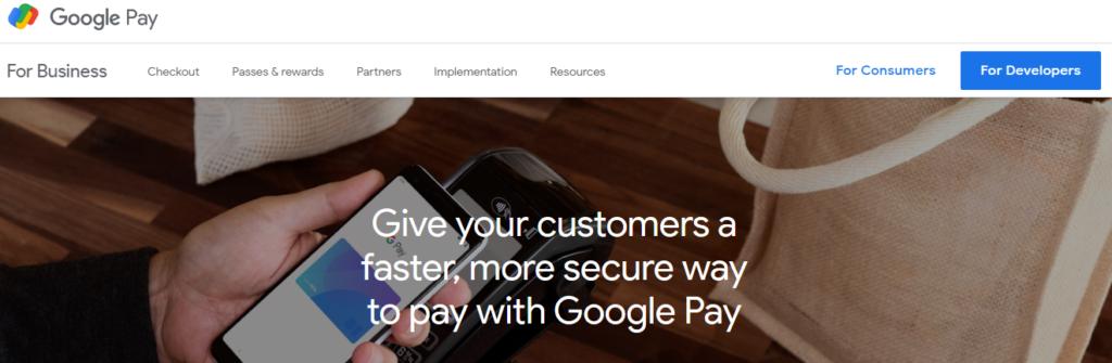Popular WordPress Payment Gateways -Google Pay