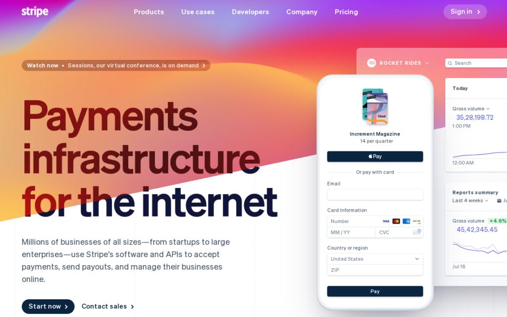 Stripe- Payment gateway for wordpress