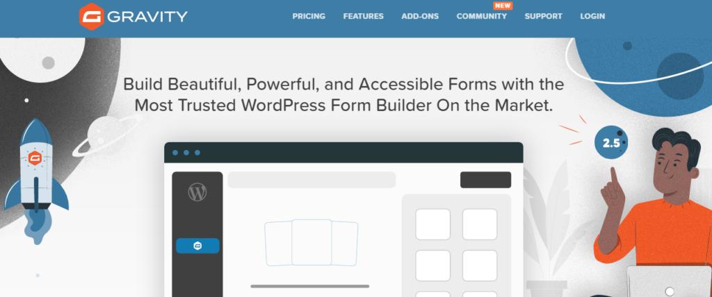 Best wordpress polls plugin- Gravity Forms