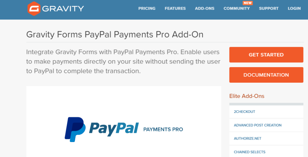 Best payment gateway for wordpress - PayPal